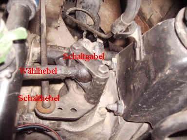 Transporter T4  Getriebe Schalthebel Reparatursatz