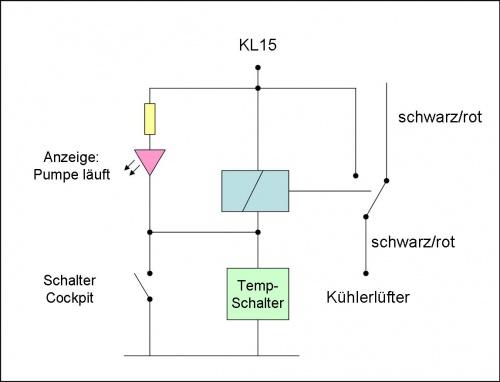 Charmant Kühlerlüfter Schaltplan Fotos - Die Besten Elektrischen ...